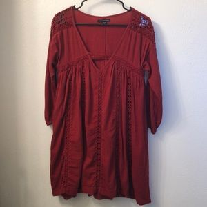 Oversized Holiday Dress - XS